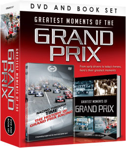 Greatest Moments of the Grand Prix (Includes Book)