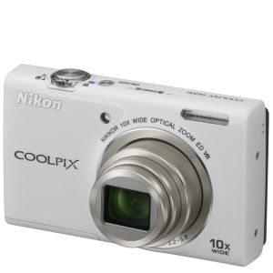 Nikon Coolpix S6200 Digital Camera White (16MP, 10x Optical Zoom) 2.7 Inch LCD Refurbished