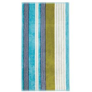 Scion Block Stripe Towel - Blue