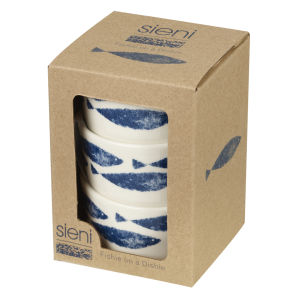Sieni Fishie Set of 3 Dip Pots Giftbox - Multi