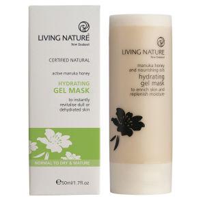 Mascarilla Hidratante de Gel de Living Nature 50 ml