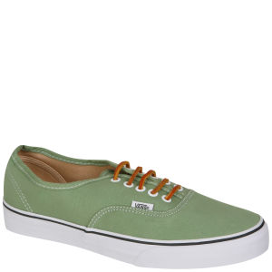 Vans Authentic Brushed Twill Trainer - Shale Green/True White