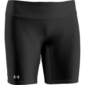 Under Armour Women's Authentic Long Shorts - Black/Silver