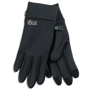 180s Men's Performer Stretch Fleece Liner Gloves - Black