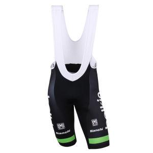 Belkin Team Replica Bib Shorts - Black/Green 2014