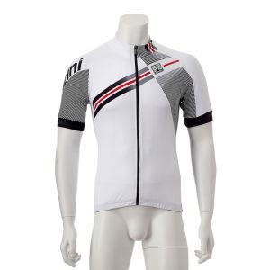 Santini Galactica Short Sleeve Jersey - White
