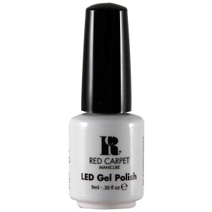 Verniz de Gel LED White Hot da Red Carpet Manicure