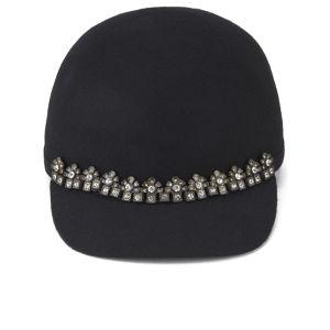Maison Scotch Women's Colourblock Hat – Tan/Black