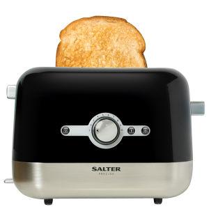 Salter Precise Toaster - Gloss Black (SDP-TT201BK)