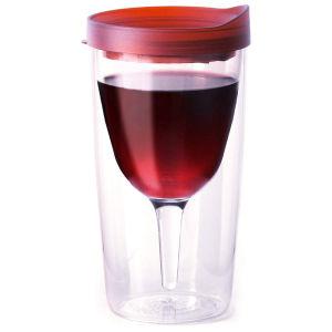Vino2Go Portable Wine Cup - Merlot