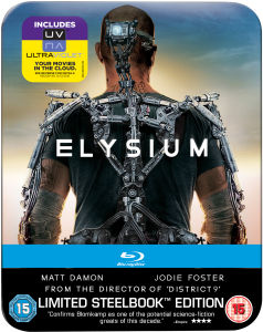 Elysium - Limited Edition Steelbook: Mastered in 4K Edition (enthält UltraViolet Copy)