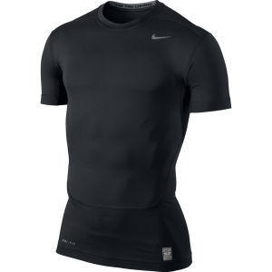 Nike Men's Core 2.0 Compression Short Sleeve Top - Black