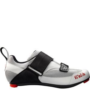 Fizik K5 Triathlon Shoe - Silver/White