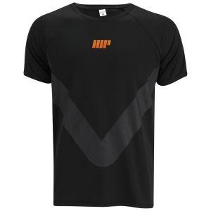 Tricou de alergat pentru barbati Myprotein - Negru