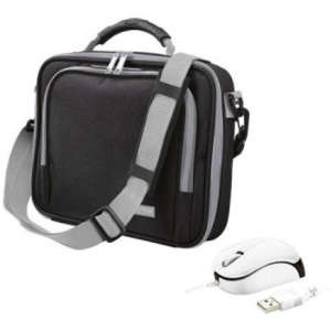 Trust 10 Inch Netbook Bag and Mouse Bundle (Black)