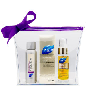 Phyto Damaged Hair Travel Kit (Worth £30)