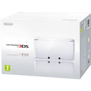 Nintendo 3DS Console (Ice White)