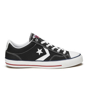 Converse CONS Men's Star Player Canvas Trainers - Black/White