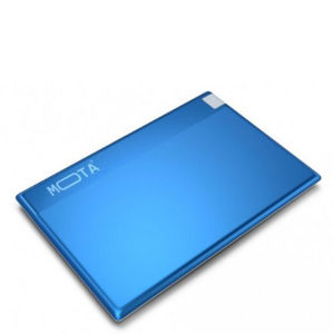 MOTA Credit Card Sized Emergency Portable Power Bank 800mAh Charge Card - Blue