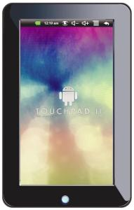 "Core TouchPad II 7"" Tablet (Android 2.1)"