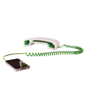 Swissvoice ePure Corded Mobile Handset - White/Green