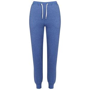 Brave Soul Women's Cuffed Sweatpant Joggers -  Cobalt Blue