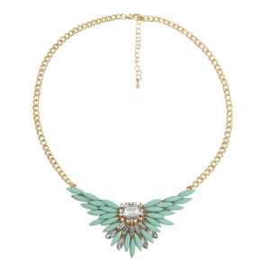Impulse Women's Perspex Chain Necklace  - Mint