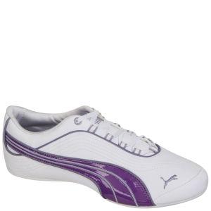 Puma Women's Soleil FS Trainers - White/Purple