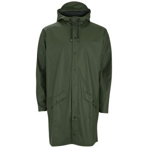 RAINS Long Jacket - Green