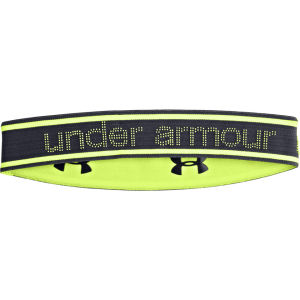 Under Armour Women's Reversible Headband - Lead/X-Ray