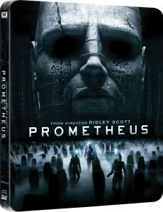Prometheus 3D (enthält 2D Version und extra Blu-Ray Bonusmaterial) - Zavvi exklusives Limited Edition Steelbook