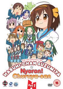 The Melancholy of Haruhi-Chan Suzumiya and Nyoron! Churuya-san Collection 1