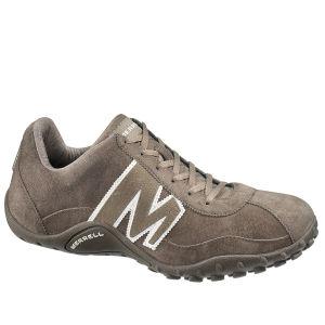 Merrell Men's Sprint Blast Leather Hiking Shoes - Gunsmoke Brown