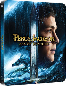 Percy Jackson: Sea of Monsters - Limited Edition Steelbook (Includes 3D Blu-Ray, 2D Blu-Ray and UltraViolet Copy) (UK EDITION)