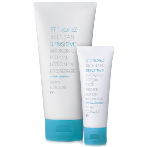 St. Tropez Self Tan Sensitive Face and Body Duo