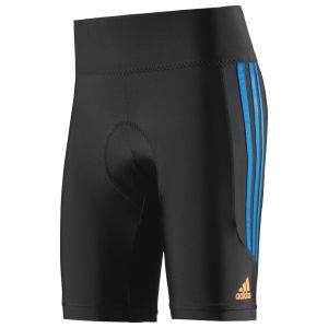 Adidas Response Short Tights - Black/Solar Blue