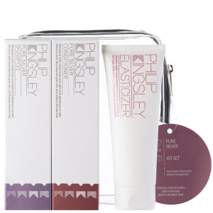 Philip Kingsley Jet Set Pure Silver (3 Products) - worth £27.45