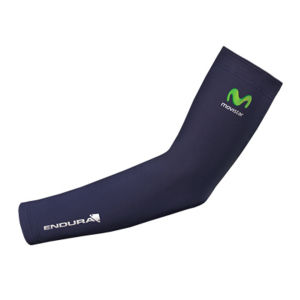 Movistar Team Replica Thermolite Arm Warmers - Blue 2014