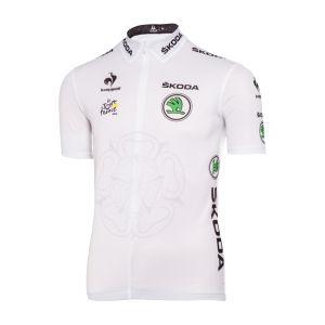 Le Coq Sportif Tour de France Young Riders Classification Official Jersey - White