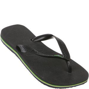 Havaianas Brasil Flip Flops - Black