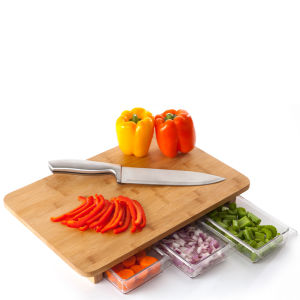 Quirky Mocubo Bamboo Chopping Board