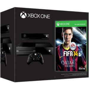 Xbox One Console - Day One Edition includes FIFA 14