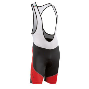 Northwave Sonic Bib Shorts - Black/Red