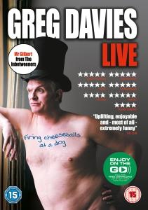 Greg Davies Live: Firing Cheeseballs At A Dog (Includes MP3 Copy)