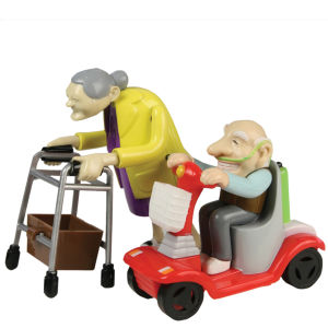 Wind Up Racing Granny And Grandad