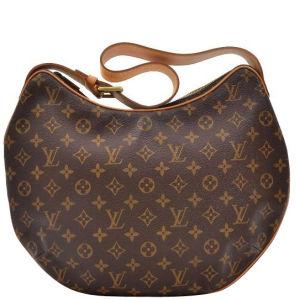 Louis Vuitton Vintage Canvas Croissant GM Handbag