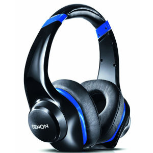 Denon AH-D321 Urban Raver Headphones with Control Wheel and Mic