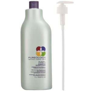 Purify Shampoo de Pureology (1000 ml) con dosificador