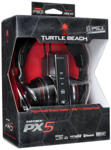 Turtle Beach PX5 Earforce PS3 and Xbox 360 Headset