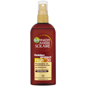 Garnier Ambre Solaire Golden Protect Sun Oil SPF 30 150ml